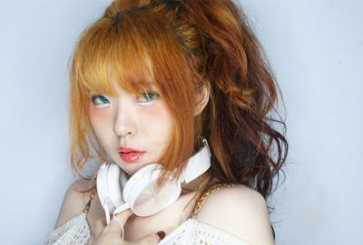 Fresh Orange Makeup with Moko Moko