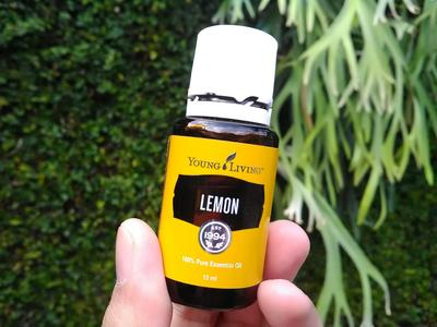 [REVIEW] Young Living Essential Oil Lemon