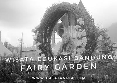 Menikmati Flower Show dan Farmers Market di Fairy Garden