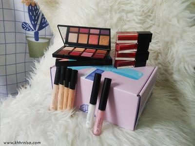 REVIEW + TUTORIAL - Makeup Box dari Althea