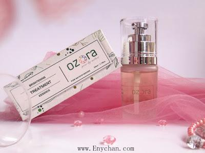 REVIEW Ozora Brightening Treatment Essence