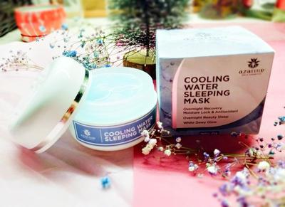 (Review: First Impression )Azarine Cooling Water Sleeping Mask Yang Bikin Aku Nyesek!!!