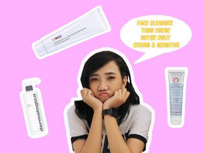 Face Cleanser Yang Cocok Untuk Kulit Kering dan Sensitif