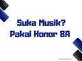 Harus Coba Honor 8A Bagi yang Suka Musik