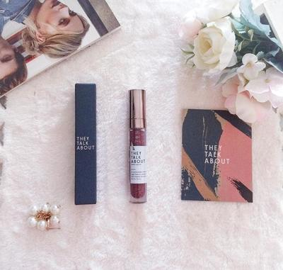 Review They Talk About Matte lipquid Shade Sedona