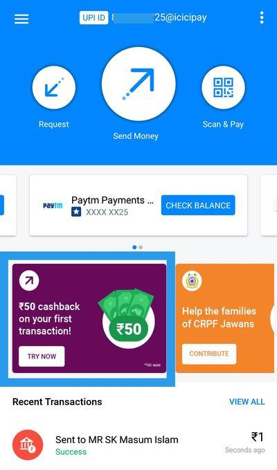 True Caller – Scan & Pay Get Upto ₹200 Bank Cash