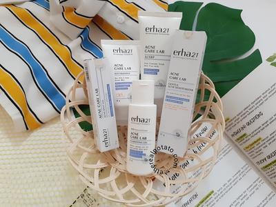 [REVIEW] Erha Acne Care Lab Series, Skincare yang Ampuh Mengusir Jerawat dalam 1 Minggu