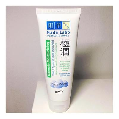 [REVIEW] : Face Wash TERRREEEENAAAK ! Hada Labo Gokujyun Ultimate Moisturizing Face Wash