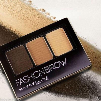 Review Maybelline Fashion Brow 3D Palette