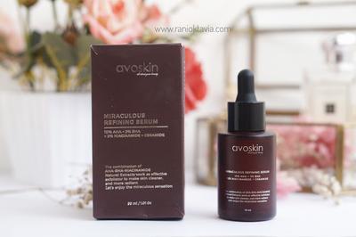 [Skincare Review] Avoskin Miraculous Refining Serum