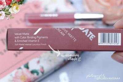LIPCREAM FAVORITE BANGET! WARDAH EXCLUSIVE MATTE LIPCREAM | SHADE 18 SATURDATE NIGHT