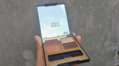 Review Inez Color Contour Plus Eyeshadow Collection #05 Venice