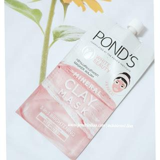 Review Pond's Mineral Clay Mask Varian Brightening Treatmen Vitamin B3