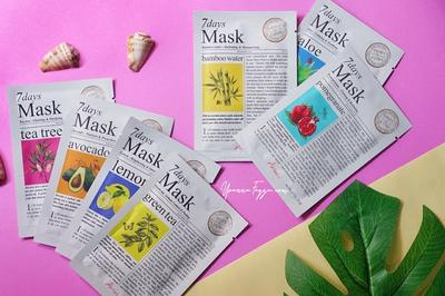 Ariul 7 Days Mask, Solusi Lengkap Semua Masalah Kulit