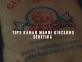 TIPS BERSIHIN KAMAR MANDI BUAT PEMALAS