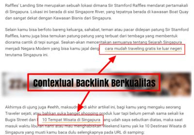 9 Cara Mendapatkan Contextual Backlink Berkualitas Tinggi