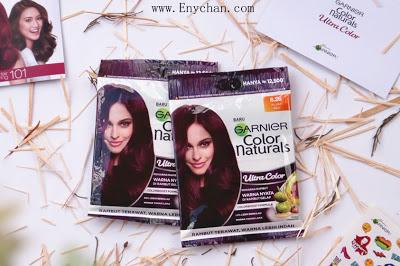 REVIEW Pewarna Rambut Praktis Garnier Naturals ULTRA COLOR