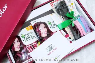 #REVIEW DIY Cara warnain rambut sendiri pakai Garnier Color Naturals Ultra Color