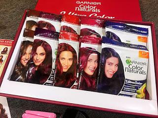 Ngecat Rambut Sendiri Tanpa Bleaching Pakai Garnier Color Naturals Ultra Color Cranberry Red Review