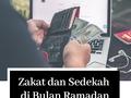 Zakat dan Sedekah di Bulan Ramadan