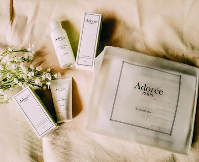 [REVIEW] ADOREE PARIS SKINCARE CLEANSING MILK & RICE CREAM MASK