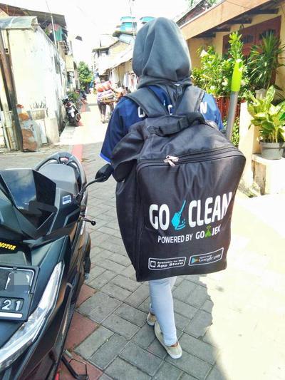 Pengalaman Membersihkan Rumah dengan GO-CLEAN