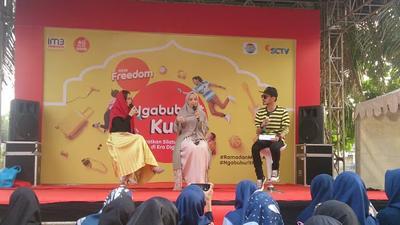 IM3 Ooredoo Perkenalkan Paket New Freedom di #NgabuburitKuat Palembang