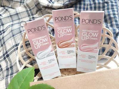 [REVIEW] Get Glowing with Pond's Instabright Glow Up Cream