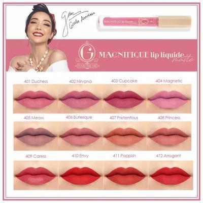 Soft Banget ! Review Lipstik  Madame Gie No 407 (Magnifique Lip Liquide Matte)