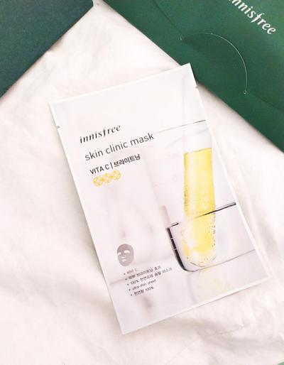 Innisfree Skin Clinic Mask: Vita C