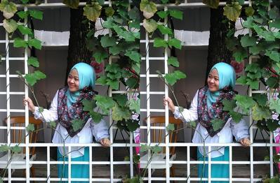 Pakai Hijab Pashmina dengan Tips Berikut
