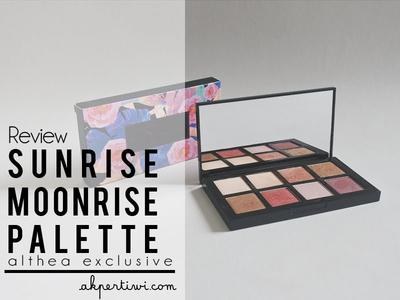 [REVIEW] Althea Exclusive Sunrise Moonrise Eyeshadow Palette