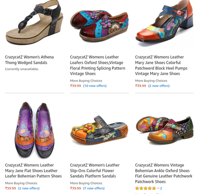(Loot Lo) Amazon – Girls Shoes Just @ ₹39