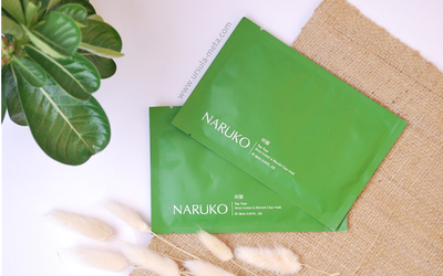 [Review] Naruko - Tea Tree Shine Control & Blemish Clear Mask