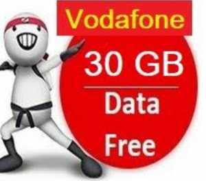 (Official) Vodafone 30GB Free 4G Net For 30 Days