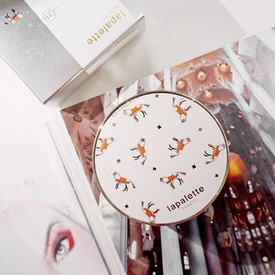 [REVIEW] Lapalette Silk Tension Cover Pact SPF50+ / PA+++ (Original White Horse - No.21)