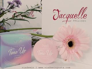Jacquelle Ultra Fine Tone Up Powder Pure (Jacquelle x Makeupuccino Beauty Gathering)