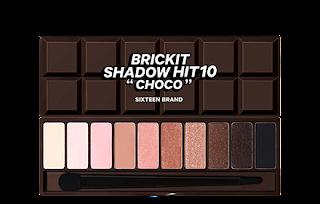 Review Sixteen Brand Brickit Shadow Hit 10 - Choco