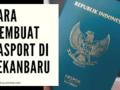 Cara Membuat Pasport di Pekanbaru