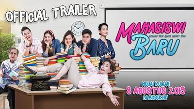 Serunya Trailer Film Mahasiswi Baru