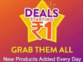 (₹1 Deals) Flipkart Loot – All ₹1 Deals Products List | Buy Now