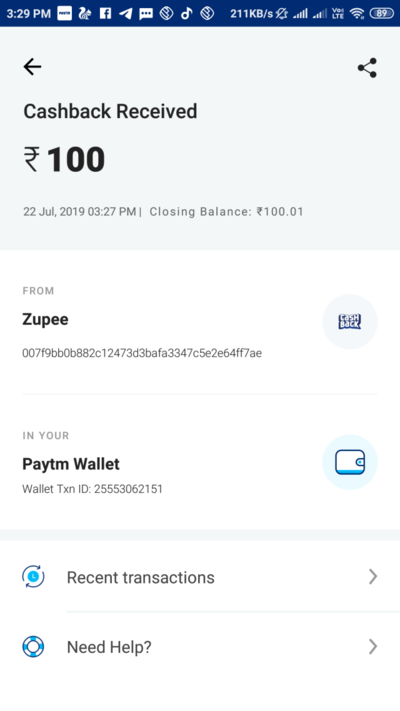 (#Loot) Zupee Gold – Refer & Earn ₹10 In Your PayTM Wallet!