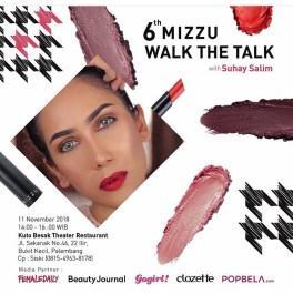 [EVENT REPORT] : MIZZU WALK THE TALK WITH SUHAY SALIM