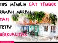 Tips Mendapatkan Harga Cat Tembok Murah tapi Tetap Berkualitas