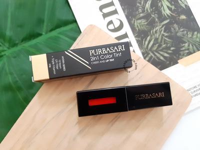 [REVIEW] Purbasari 2in1 Color Tint