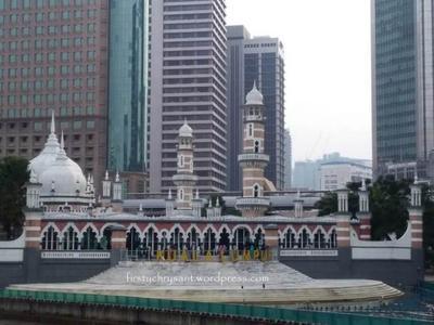 Shalat Iedul Adha di Mesjid Jamek Kuala Lumpur
