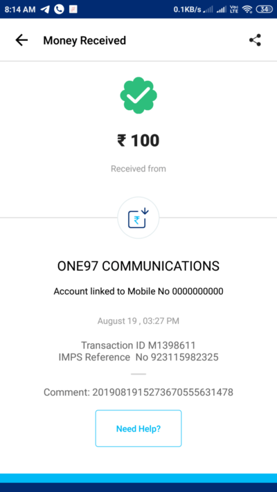(#Proof) Create Paytm Merchant Account – Get ₹100 Paytm Cash