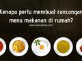 Kenapa perlu membuat rancangan menu makanan di rumah?