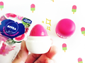 Review: Nivea Lip Balm Pop Ball | Watermelon & Pomegranate