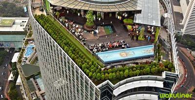 4 Rekomendasi Rooftop Terbaik di Jakarta